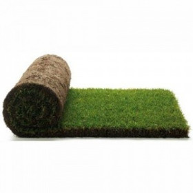 165 square meters of lawn that is ready in rolls